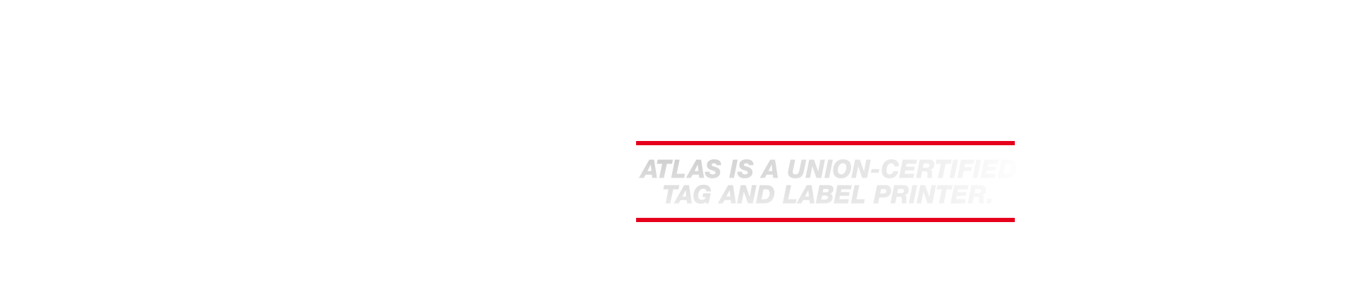 atlas is a union certified printer
